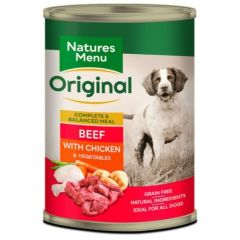 Natures Menu Våtfor Biff, Kylling & Grønnsaker 400g