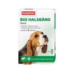 Beaphar Bio flåtthalsbånd hund 65cm