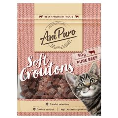 Anipuro Soft Croutons Pure Beef 50g