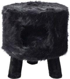 Kattemøbel Huebii fluffy sort L