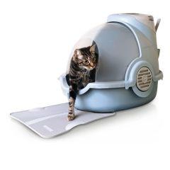 Matte til luktfjernende kattekasse