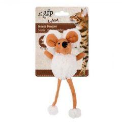 Afp Lambswool-Mouse Dangler 16cm