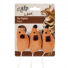 Afp Lambswool - The Triplets Catnip