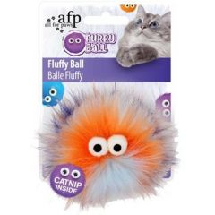 AFP Furry Fluffy Ball Oransje