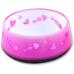 AFP Kitty Love Bowl rosa 10cm