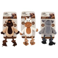 Afp Lambswool Cuddle Knot bamse