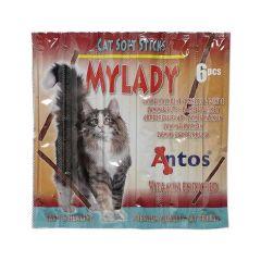 Antos Cat Soft Sticks Mylady lam og kalkun 6stk