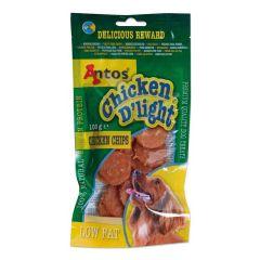 Antos Chicken D'light Chicken Chips 100g