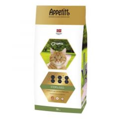 Appetitt Cat Sterilised 10kg