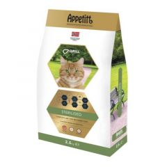 Appetitt Cat Sterilised 2,5kg