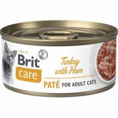 Brit Care Cat Paté Kalkun & Skinke 70g