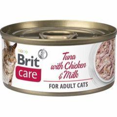 Brit Care Cat Tunfisk, kylling & Melk 70g