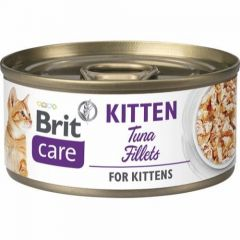 Brit Care Cat Kitten Filet Tunfisk 70g