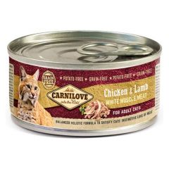 Carnilove Canned Chicken & Lamb Adult 100g