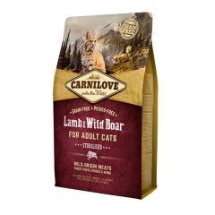 Carnilove Lamb & Wild Boar Sterilized Adult Cats 6kg