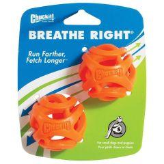 Chuckit Breathe Right Fetch Ball Small 5cm 2pk