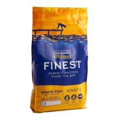 Fish4Dogs Adult Finest med hvit fisk 12kg
