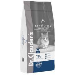 Dr.Clauder's Cat Sterilisert Light Senior 10Kg