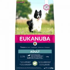 Eukanuba Adult Small and Medium Lamb And Rice 2,5kg