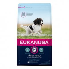 Eukanuba Active Adult Medium Breed 15 kg