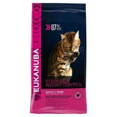 Eukanuba Cat Adult Sterilised/ Weight Control 3kg