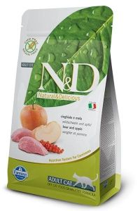 Farmina Cat N&D Grain Free Boar & Apple Adult 5kg