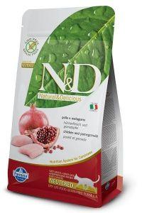 Farmina Cat N&D Grain Free Chicken & Pomegranate Neutered 5kg