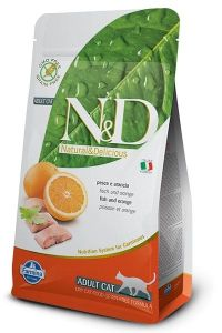 Farmina Cat N&D Grain Free Fish & Orange Adult 1,5kg