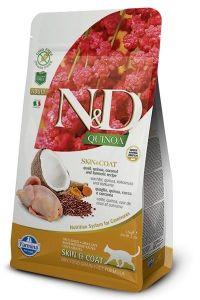 Farmina Cat N&D Quinoa Skin & Coat Quail Adult 1,5kg