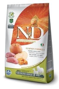 Farmina Dog N&D Pumpkin Boar & Apple Adult Medium/Maxi 12kg