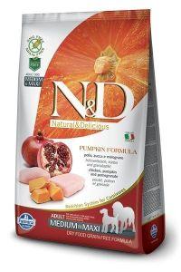 Farmina Dog N&D Pumpkin Chicken & Pomegranate Adult Medium/Maxi 12kg