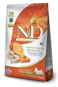Farmina Dog N&D Pumpkin Codfish & Orange Adult Mini 2,5kg