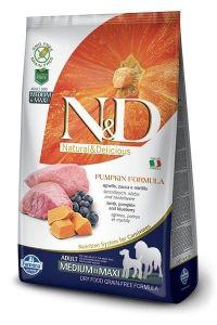 Farmina Dog N&D Pumpkin Lamb & Blueberry Adult Medium Adult/Maxi 12kg