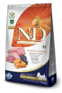 Farmina Dog N&D Pumpkin Lamb & Blueberry Adult Mini 7kg