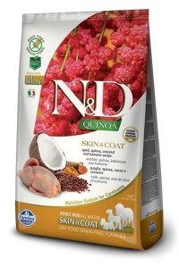 Farmina Dog N&D Quinoa Skin & Coat Quail Adult All Breeds 2,5kg