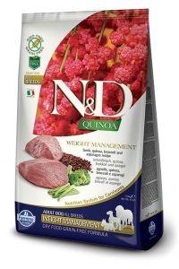 Farmina Dog N&D Quinoa Weight Management Lamb Adult All Breeds 7kg