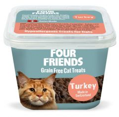 Four Friends Cat Treat Turkey 100 Gr