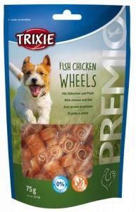Fish Chicken Wheels 75g