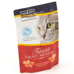 Fish4Cats Finest mousse med ørret 100g