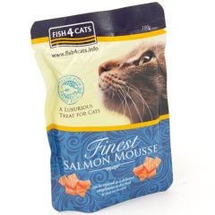 Fish4Cats Finest mousse med laks 100g