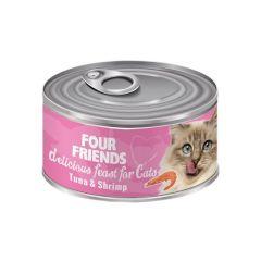 Four friends reker og tunfisk