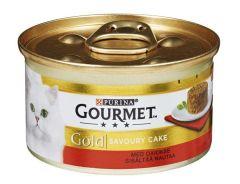 Purina Gourmet Gold Savoury Cake Okse 85 Gr