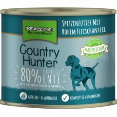 Natures menu Country Hunter Våtfor And 600g