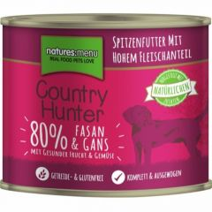 Natures Menu Country Hunter Våtfor Fasan & Gås 600g