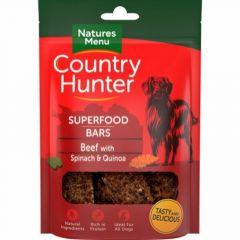 Natures menu Superfood Bar Okse 100g