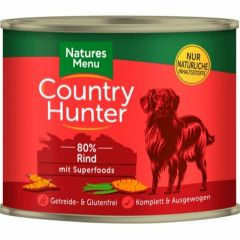 Natures Menu Country Hunter Våtfor Okse 600g
