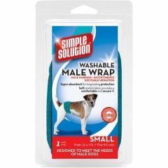 Simple Solution Vaskbar Magebånd til hannhund