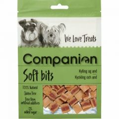 Companion Soft Bits Kylling & And 80g
