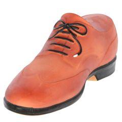 Hundeleke sko 25 cm Brun