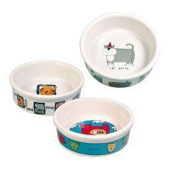 Trixie Katteskål keramikk